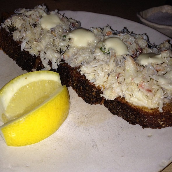 Crab toast @ ABC Kitchen