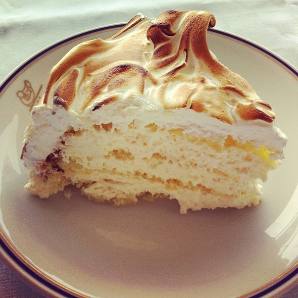 Lemon Meringue Pie @ Cipriani