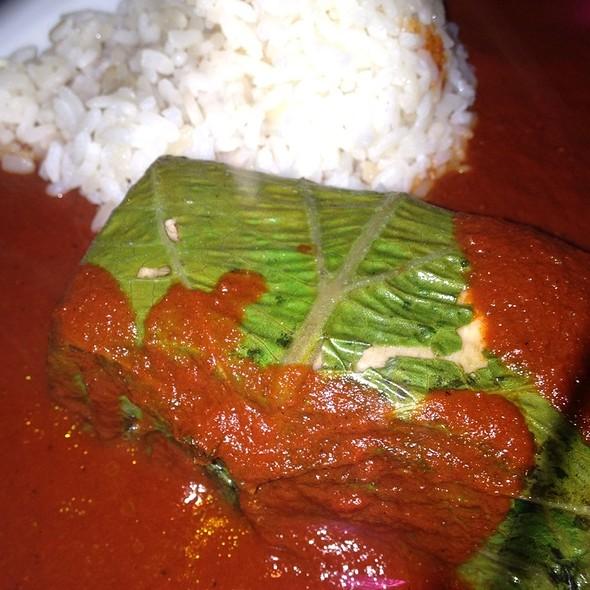 Salmon Wrapped In Hoja Santa - El Naranjo, Austin, TX