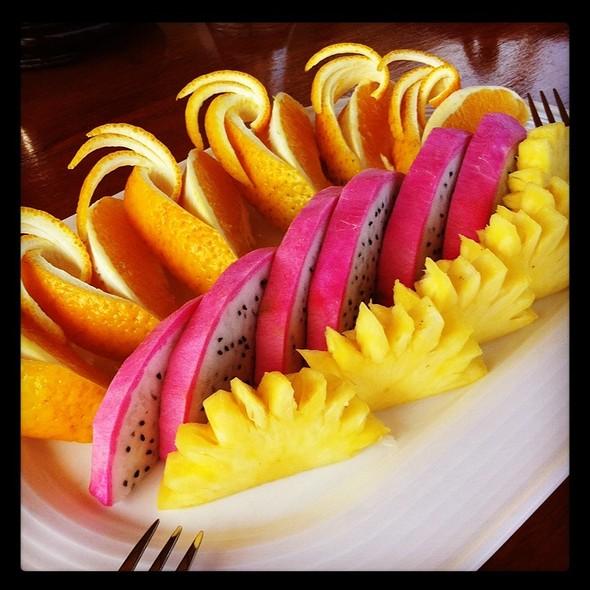 Tropical Fruit Platter @ Life Resorts, Ha Long Bay