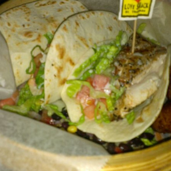 Mahi Fish Tacos @ Duffy's Love Shack