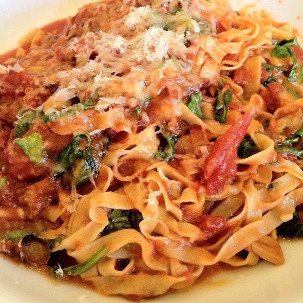 """Tagliolini """"Pepati"""" @ Aperto Restaurant"""