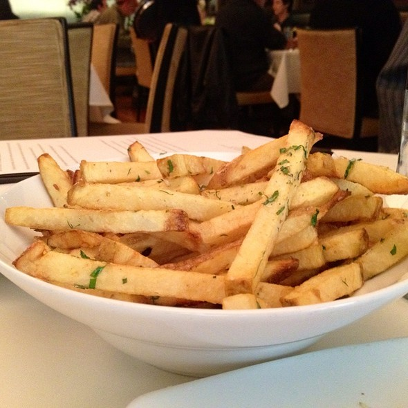 Parmesan Truffle Fries - Root 246 at Hotel Corque