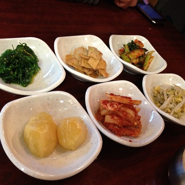 Side Dishes @ Kang Na Roo