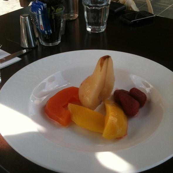 Poachedfruit