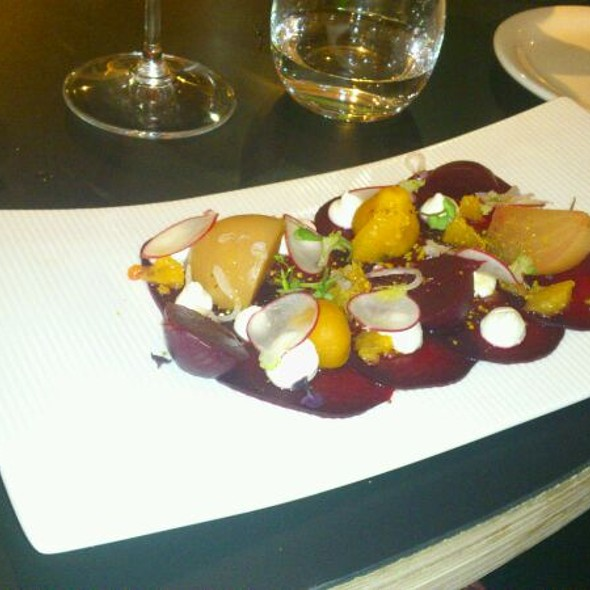 Beetroot Gazpacho At Eden Dining Room Bar