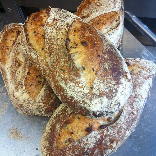 Soy And Linseed Sourdough @ Movida Bakery
