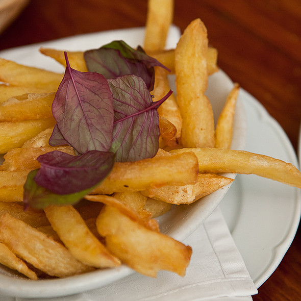 French Fries @ Brasserie Petanque