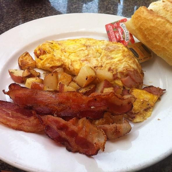 French Omlette (Ham And Cheese) - Boheme Bistro, Delray Beach, FL