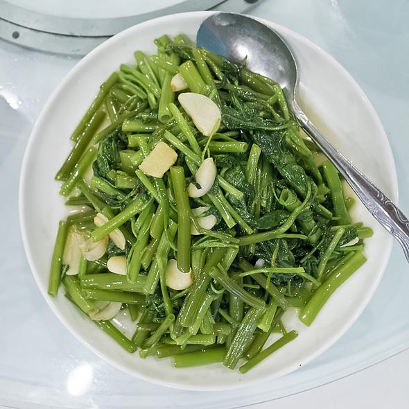 Stir Fried Water Spinach @ Mala Sichuan Bistro