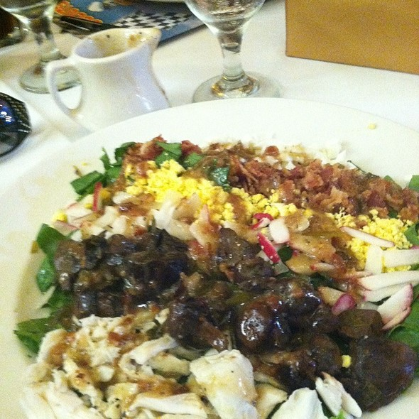 Spinach Salad With Jumbo Crab - Grand Concourse, Pittsburgh, PA
