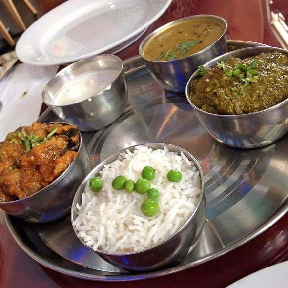 Tarkari Thali Combo - Himalayan Cafe, Pasadena, CA