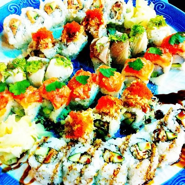 Assorted Sushi @ Cafe Sushi
