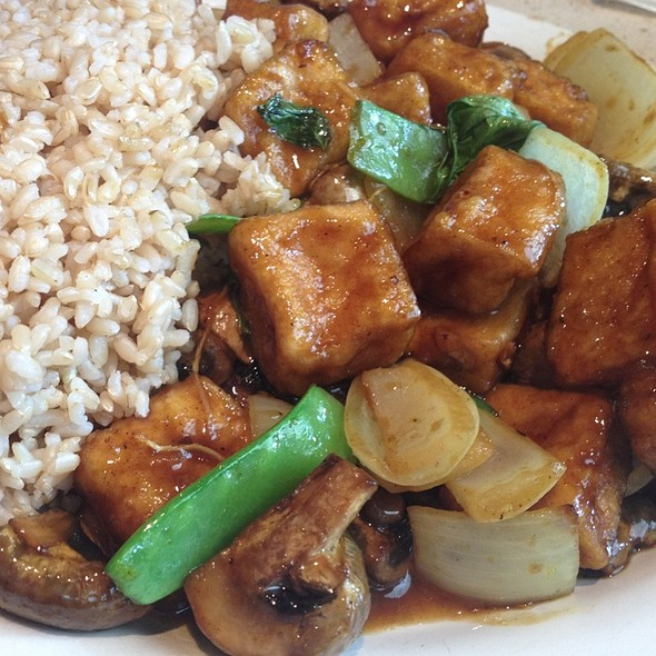 Tofu With Chinese Curry Sauce @ Blue Koi