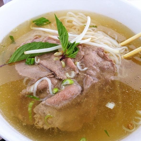 Beef Pho @ Laan-Xang Cafe