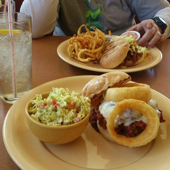 Beef Brisket Sandwich @ Spin Cafe