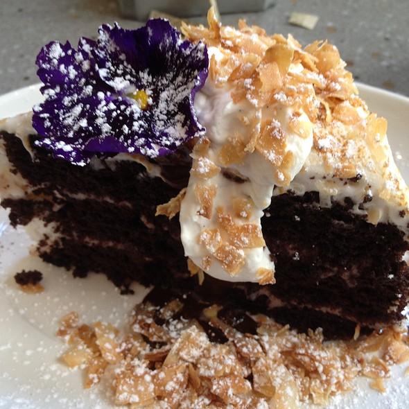 Hawaiian Hangover cake @ Bluestem Brasserie