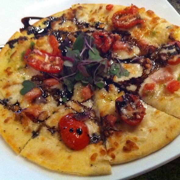 Bruschetta Flat Bread Pizza - Lakeside Bar + Grill, Celebration, FL