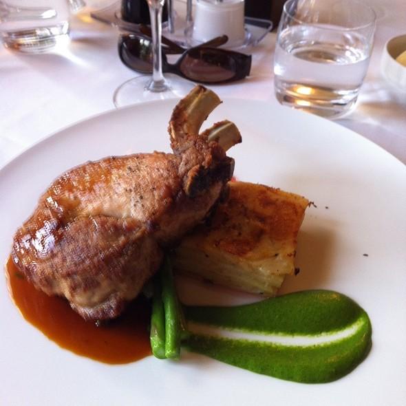 Double Pork Chop - Inn on the Twenty, Jordan, ON
