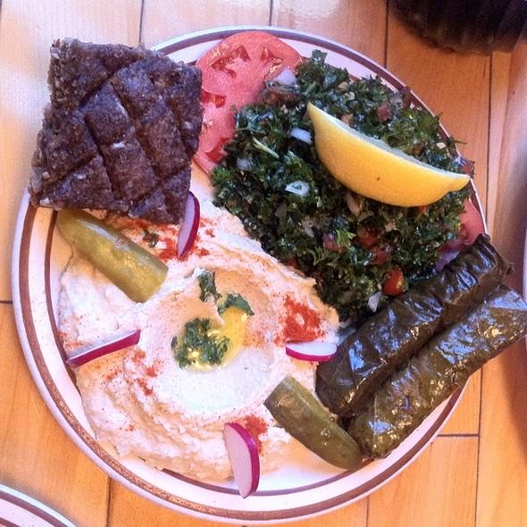 Tabbouleh, Yabrek And Hummus @ Cedar's Eatery
