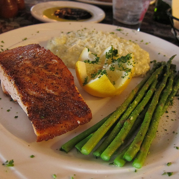 Grilled Salmon @ The Bistro Cafe