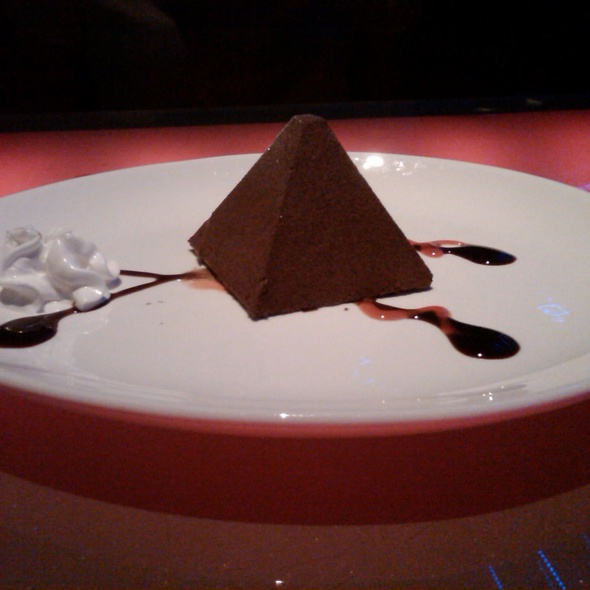 Chocolate Mousse Pyramid - MoCA Asian Bistro - Queens, Forest Hills, NY