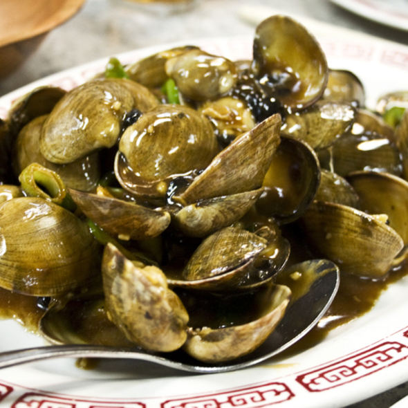 Clam With Black Bean Sauce  @ 69 Chinese Restaurant
