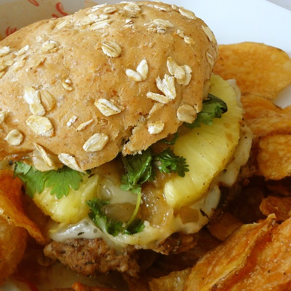 Whadda Jerk Burger @ Burgatory