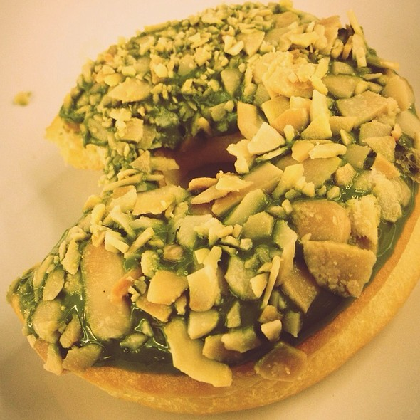 Green Tease Donuts @ J. CO Donuts and Coffee