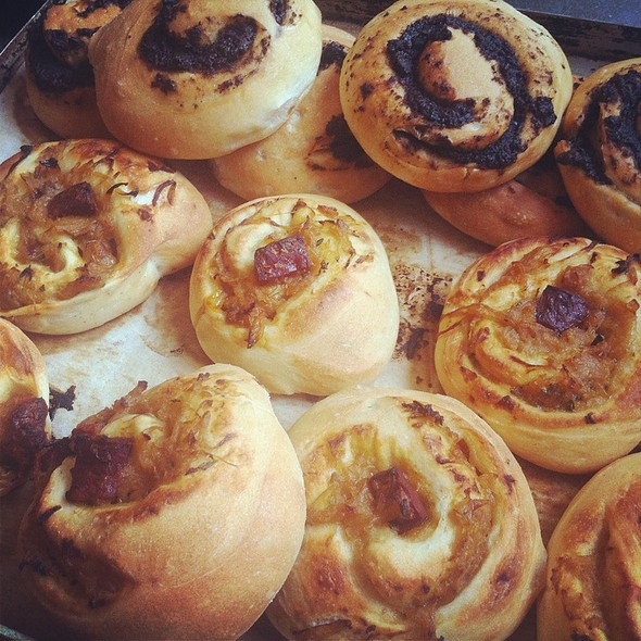 Chorizo Onion And Thyme Roll @ Movida Bakery