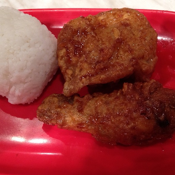 Soy Garlic Chicken @ BonChon Chicken