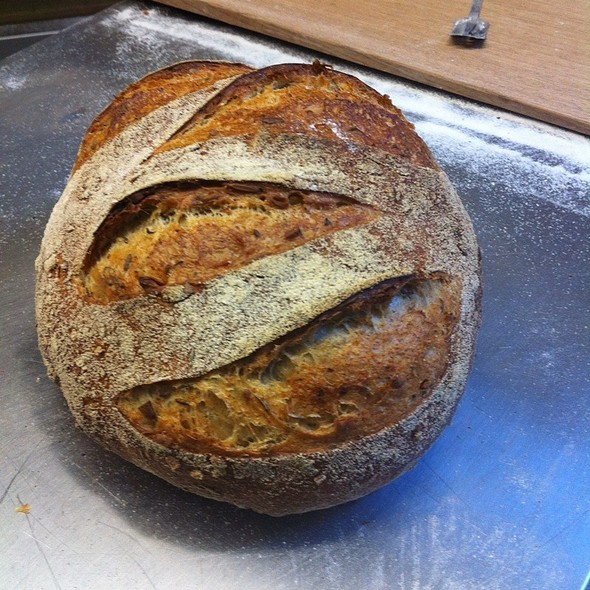 Rye Grain, Sunflower And Seed Sourdough @ Movida Bakery