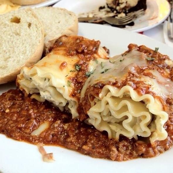 Lasagna Roll-ups @ Banapple Pies And Cheesecakes