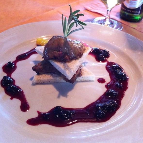 Zprudka pečená husí foie gras @ Zvonice