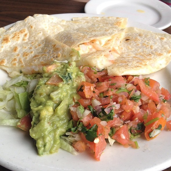 Shrimp Quesadilla - Pier Cafe, San Diego, CA