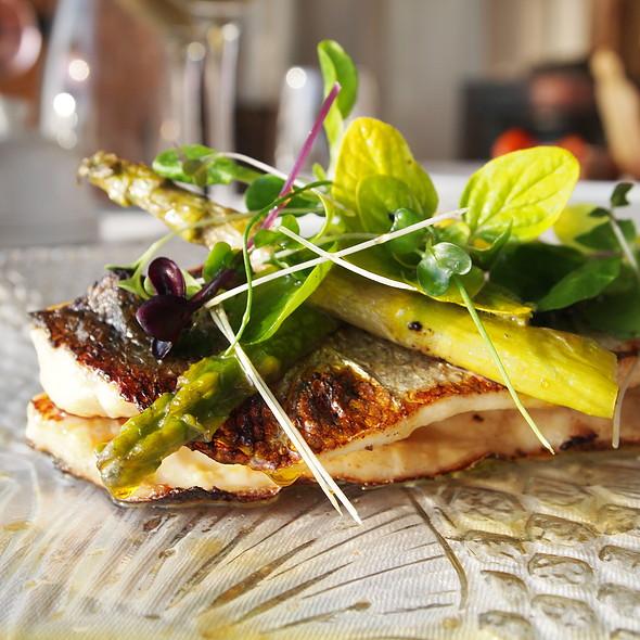 Pan-fried Sea Bass @ Castlemurray House