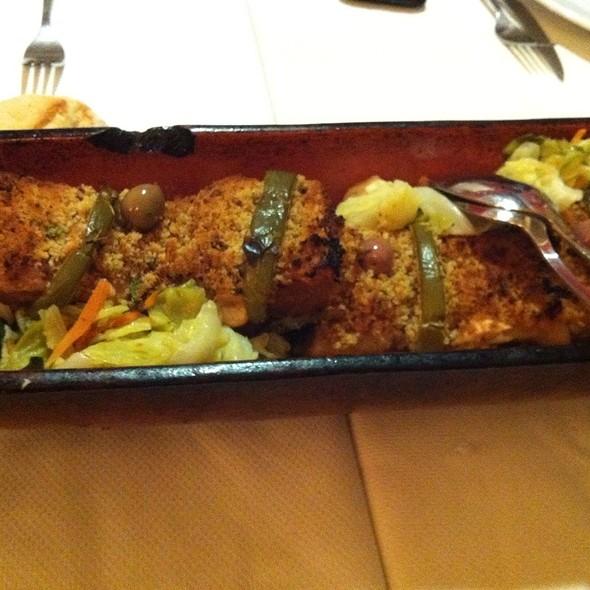 bacalhau com broa @ Oporto
