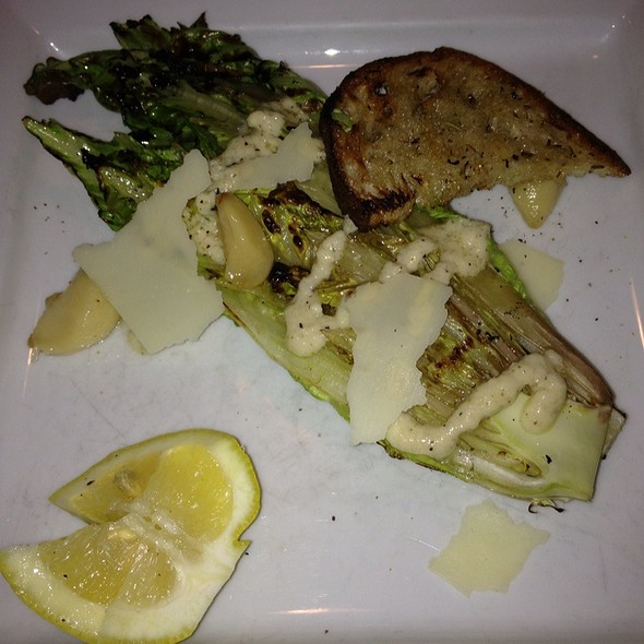 Grilled Ceasar Salad @ Cafe Troia Inc