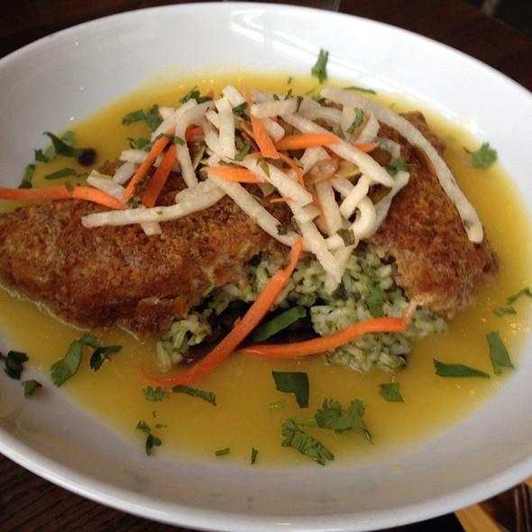 Rockfish Empanizado Con Platano @ Miguels Cocina Y Cantina