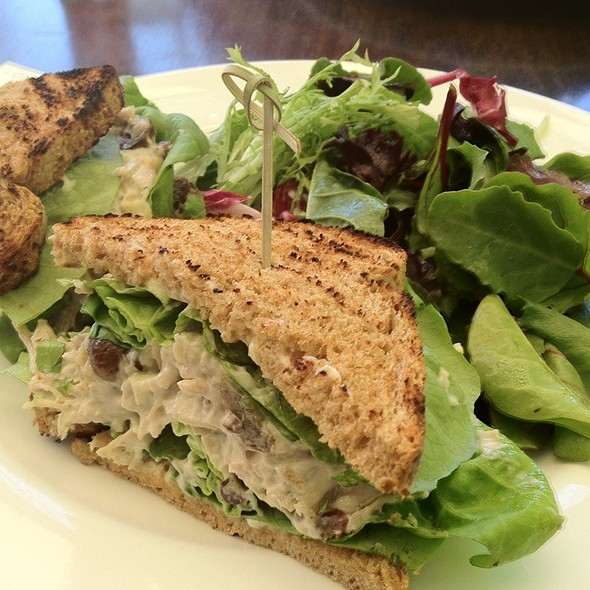 Chicken Salad Sandwich - Purple Palm at the Colony Palms Hotel, Palm Springs, CA