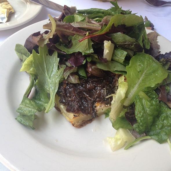 Sweet Onion & Goat Cheese Tart @ La Bonne Soup