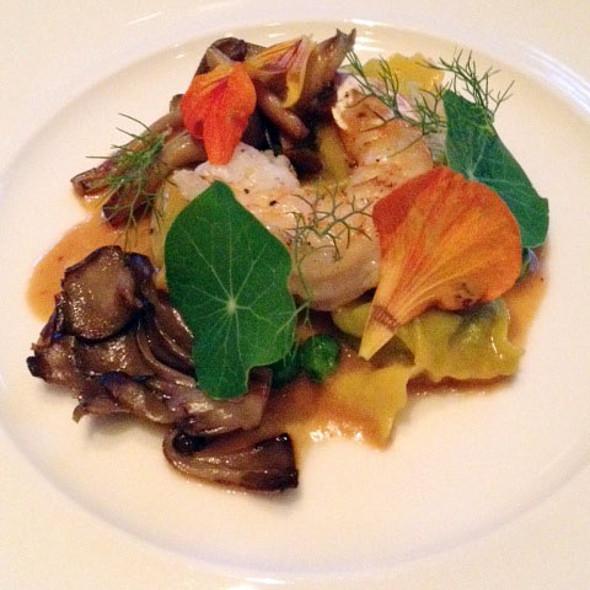 English Pea Agnolotti @ AME Restaurant