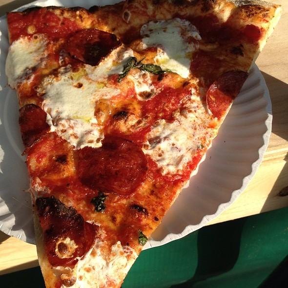 Pepperoni Pizza @ Pizza Moto @ Brooklyn Flea