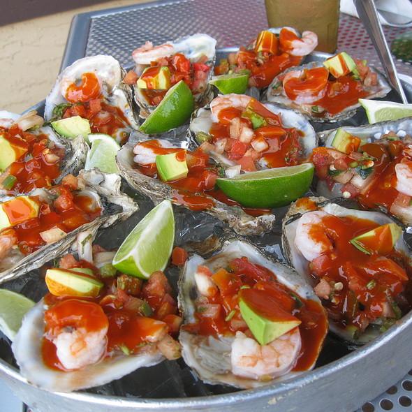 Oysters Charra Style @ El Fuego