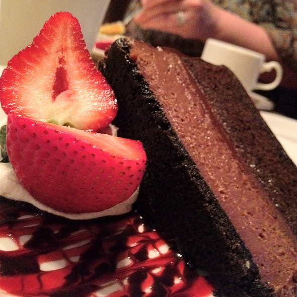 Chocolate Dream Cake - Woodlands Restaurant at Eagle Ridge Resort & Spa, Galena, IL