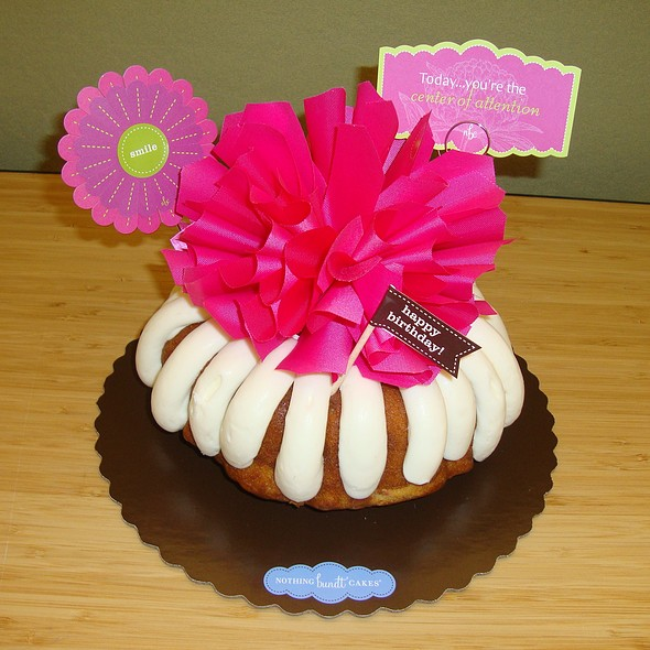Nothing Bundt Cakes Menu Sugarland TX Foodspotting - Bundt birthday cake
