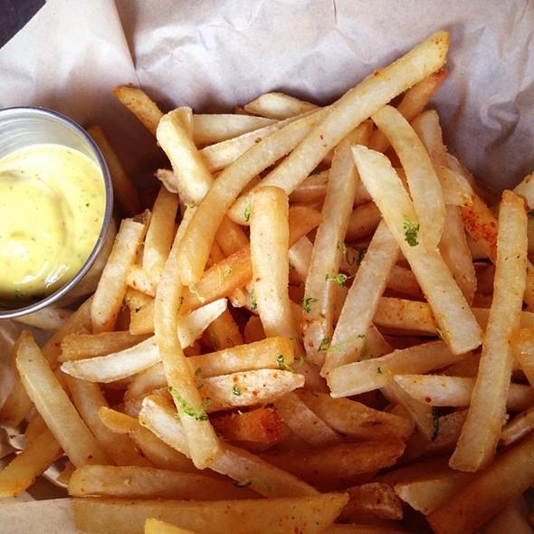 Togarashi Spiced Fries @ Belly Shack