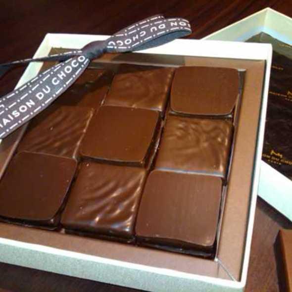 coffret ganaches @ La Maison du Chocolat