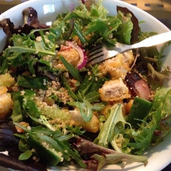 Chicken And Bacon Salad @ I Cooked This
