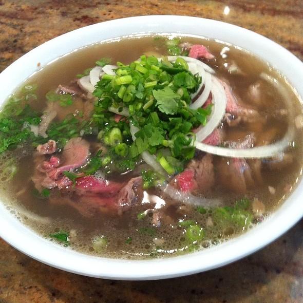 Vietnamese Pho Beef Noodle Soup @ Pho Bang New York